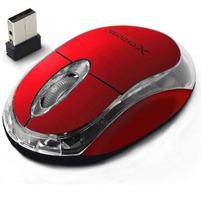 EXTREME Mysz optyczna bezprzewodowa XM105R czerwona