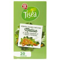 WIODĄCA MARKA Tisea Melisa ze skórką pomarańczy i trawą cytrynową Herbatka ziołowa (20 tb.)