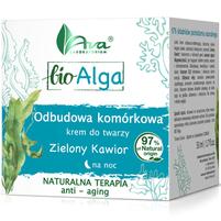AVA LABORATORIUM Bio Alga Odbudowa komórkowa Krem do twarzy na noc zielony kawior