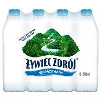 ŻYWIEC ZDRÓJ Niegazowany Woda źródlana (12 x 0,5 l)