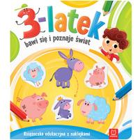 AKSJOMAT 3-latek bawi się i poznaje świat (okładka miękka)