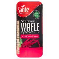 SANTE Extra cienkie wafle ryżowe z amarantusem