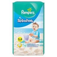 PAMPERS Splashers Pieluchy do pływania Rozmiar 3-4 (6-11 kg)