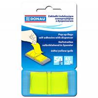 DONAU Zakładki indeksujące 45x25mm Żółte