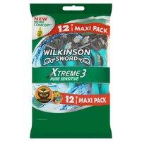 WILKINSON Sword Xtreme3 Pure Sensitive Jednorazowe maszynki do golenia
