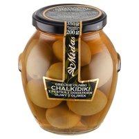MIDAS Greckie oliwki chalkidiki z pestką z dodatkiem oliwy z oliwek
