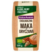 NaturAvena Ekologiczna mąka gryczana