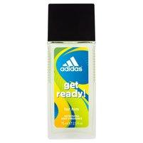 ADIDAS Get ready! Odświeżający dezodorant dla mężczyzn w szkle