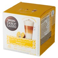 NESCAFE Dolce Gusto Latte Macchiato Vanilla Kawa w kapsułkach (16 kaps.)