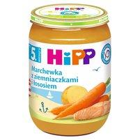 HiPP Marchewka z ziemniaczkami i łososiem po 5. m-cu