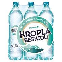 KROPLA BESKIDU Naturalna woda mineralna musująca (6 x 1,5 l)