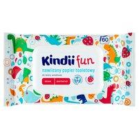KINDII Fun Nawilżany papier toaletowy do skóry wrażliwej