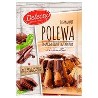 DELECTA Polewa Smak mlecznej czekolady