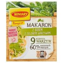 WINIARY Pomysł na... Makaron z sosem z zielonymi warzywami