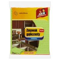 JAN NIEZBĘDNY Zmywak gąbczasty celulozowy