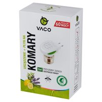 VACO Elektrofumigator na komary + płyn