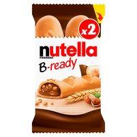 NUTELLA B-ready Chrupiący pszenny wafelek wypełniony kremem do smarowania