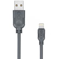 EXC Kabel USB - Lightning Whippy 2m szary