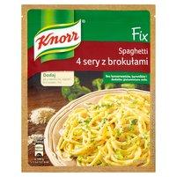 KNORR Fix Spaghetti 4 sery z brokułami