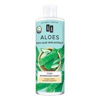 AA Aloes 100% aloe vera extract tonik regenerująco-kojący