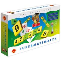 ALEXANDER Sowa Mądra Głowa Supermatematyk (7+)