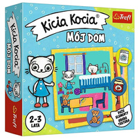 TREFL Kicia Kocia Mój dom Gra edukacyjna (2-3 lata)