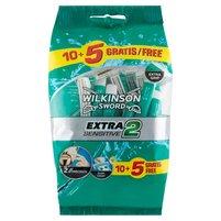 WILKINSON Sword Extra2 Sensitive Jednorazowe maszynki do golenia