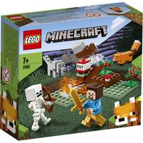 LEGO Minecraft Klocki Przygoda w Tajdze 21162 (7+)