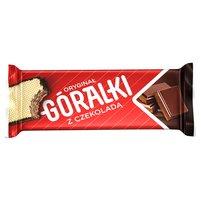 GÓRALKI Czekoladowe Wafelek przekładany kremem kakaowo-czekoladowym