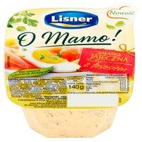 LISNER O Mamo! Sałatka jajeczna z łososiem