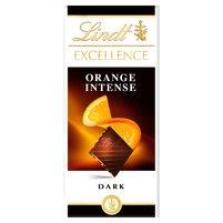 Lindt Excellence Intense Orange Czekolada ciemna z pomarańczą i migdałem