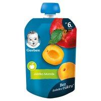 GERBER Deserek jabłko morela dla niemowląt po 6. m-cu