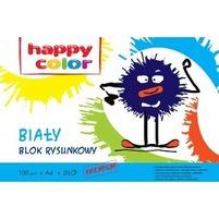 HAPPY COLOR Blok rysunkowy A4 20 kart. Biały