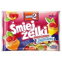 NIMM2 Śmiejżelki owocowo-jogurtowe Żelki owocowe wzbogacone witaminami