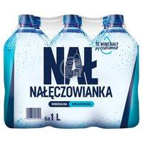 NAŁĘCZOWIANKA Naturalna woda mineralna niegazowana (6 x 1 l)