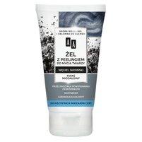 AA Carbon&Clay Żel z peelingiem do mycia twarzy
