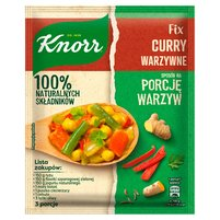 KNORR Fix Curry warzywne