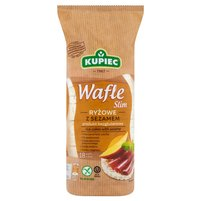 KUPIEC Slim Wafle ryżowe z sezamem (18 szt.)