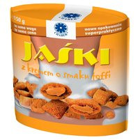 CHABER Jaśki z kremem o smaku toffi Poduszeczki śniadaniowe