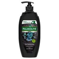 PALMOLIVE MEN Refreshing odświeżający żel pod prysznic dla mężczyzn 3w1 eukaliptus sól morska