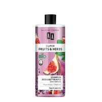 AA Super Fruits&Herbs szampon dodający blasku włosy farbowane figa&lawenda
