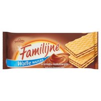 FAMILIJNE Wafle o smaku kakaowym