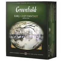 GREENFIELD Earl Grey Fantasy Herbata czarna (100 tb.)