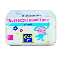 ECO+ Chusteczki dla dzieci nawilżane (3 x 72 szt.)