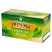 TWININGS Zielona herbata z aromatem bergamoty (25 tb.)