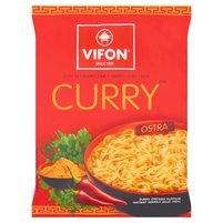 VIFON Kurczak Curry Zupa błyskawiczna o smaku kurczaka ostra