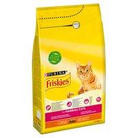 FRISKIES Hairball Karma dla kotów z kurczakiem i warzywami