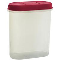 PLAST TEAM Pojemnik na żywność z dozownikiem 2,4L czerwony