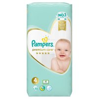 PAMPERS Premium Care Pieluchy 4 Maxi (7-14 kg)