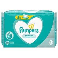 PAMPERS Sensitive Chusteczki nawilżane dla niemowląt (3 opak.)